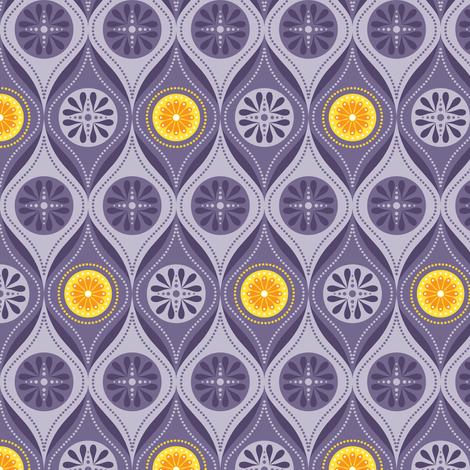 Cosmic Lattice fabric by robyriker on Spoonflower - custom fabric