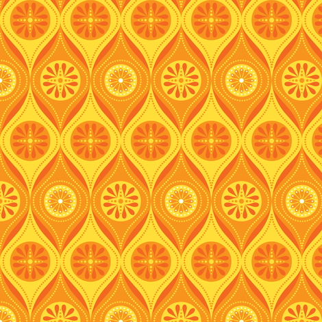 Solar Lattice fabric by robyriker on Spoonflower - custom fabric