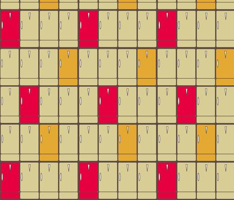 Rows_of_Retro_Fridges fabric by joofalltrades on Spoonflower - custom fabric