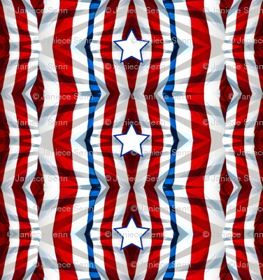Stars and Stripes contest entry  fabric