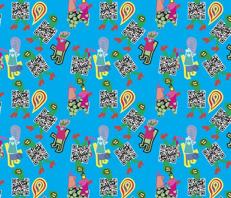 kingcock fabric by loeygnoj on Spoonflower - custom fabric