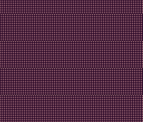 pink dots on purple fabric by carrie_harper on Spoonflower - custom fabric