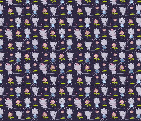 mausi_PATTERN-02 fabric by katja_saburova on Spoonflower - custom fabric
