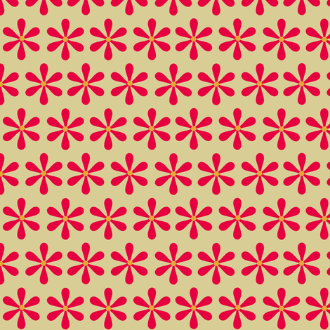 Cherry Kitschy/ flower fabric by paragonstudios on Spoonflower - custom fabric