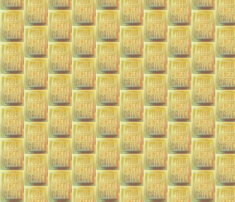 Four Wheel Drive fabric by relative_of_otis on Spoonflower - custom fabric