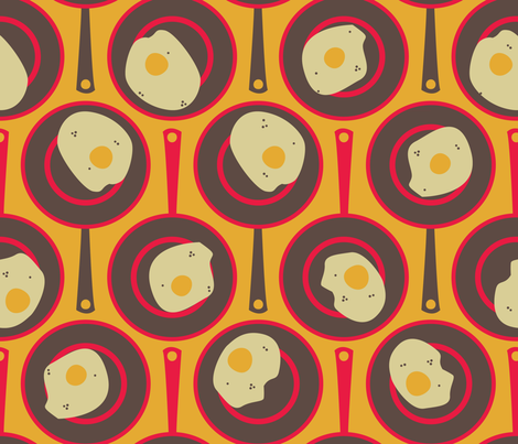pattern_eggs fabric by monica_cronin on Spoonflower - custom fabric