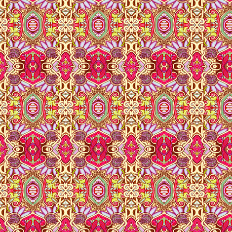 The Year of the Unicorn fabric by edsel2084 on Spoonflower - custom fabric