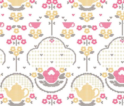 retro_kitchen fabric by luiza_sequeira on Spoonflower - custom fabric