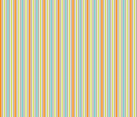 What the Hoot Stripe fabric by bzbdesigner on Spoonflower - custom fabric