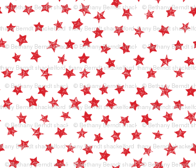 Ducky Red Stars