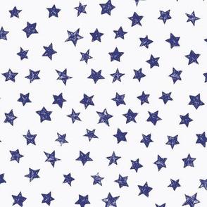 Ducky Blue Stars