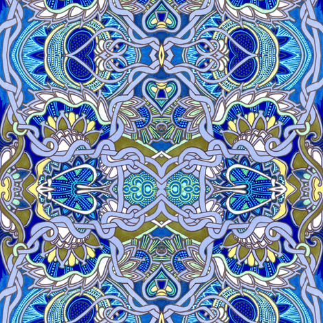 This is Knot Really Celtic fabric by edsel2084 on Spoonflower - custom fabric