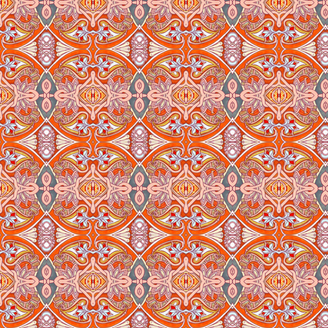 These Oranges Don't Grow on Trees fabric by edsel2084 on Spoonflower - custom fabric