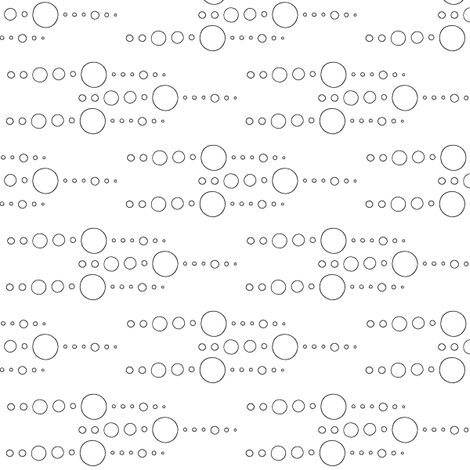 Beads Air fabric by dolphinandcondor on Spoonflower - custom fabric