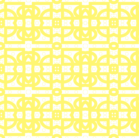 yellowcircles fabric by sewbiznes on Spoonflower - custom fabric