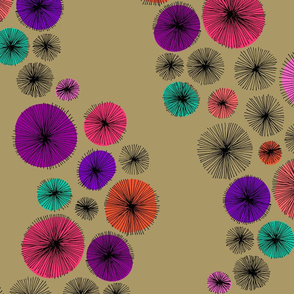 Spiralling Spirals (Hand Drawn) // Garden