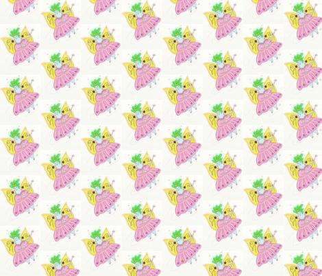 Fat Fairy fabric by kristinbell on Spoonflower - custom fabric