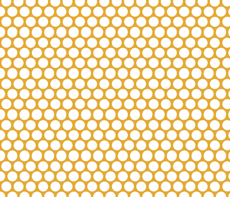 retro mustrad bold dots fabric by katarina on Spoonflower - custom fabric