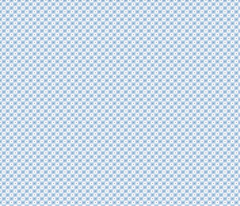 double dot over in blue fabric by glimmericks on Spoonflower - custom fabric