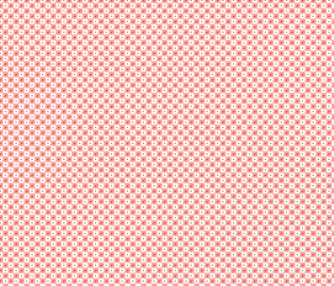 double dot over in watermelon fabric by glimmericks on Spoonflower - custom fabric