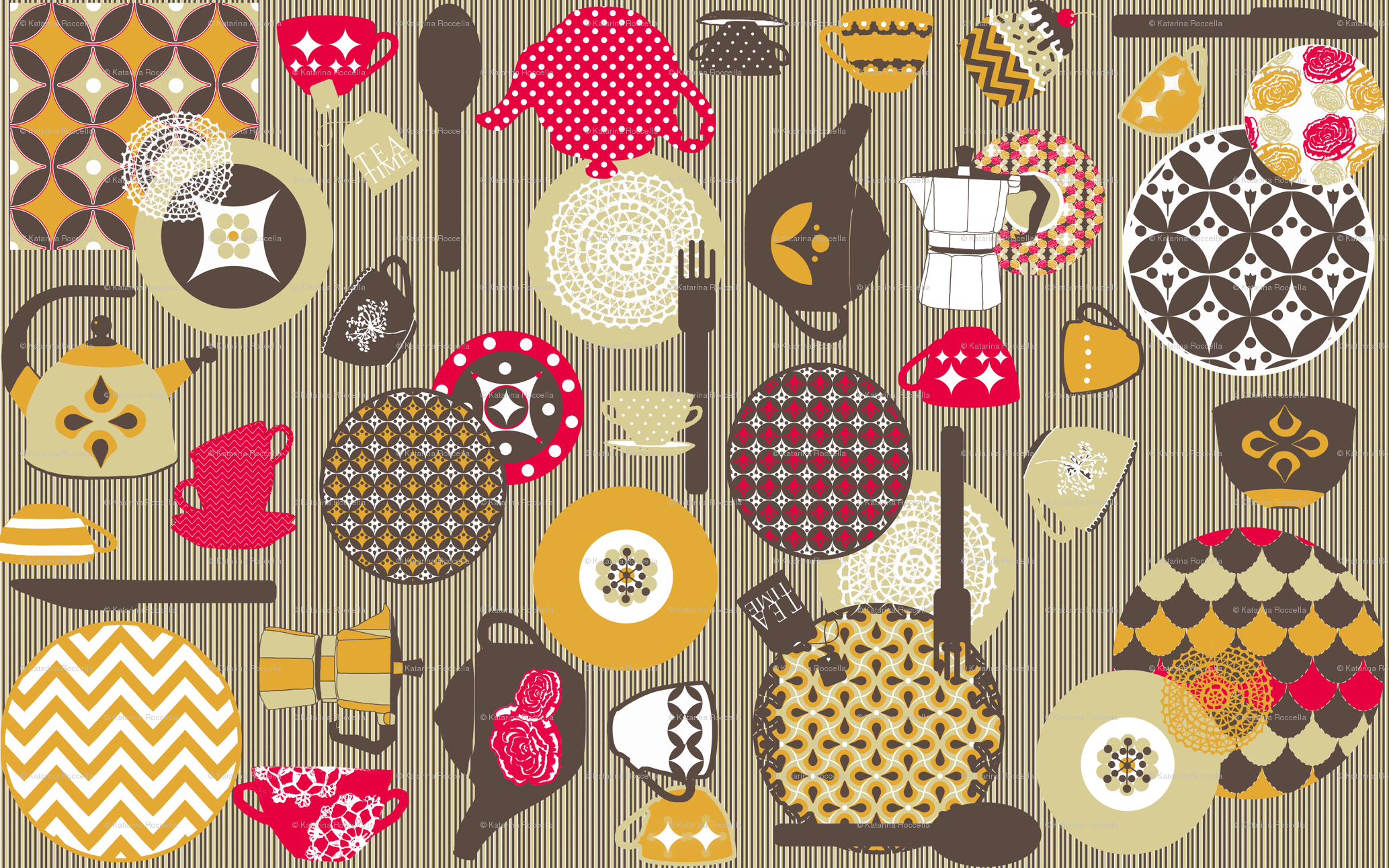 Spoonflower Stripe Wallpaper And | Collection 14+ Wallpapers