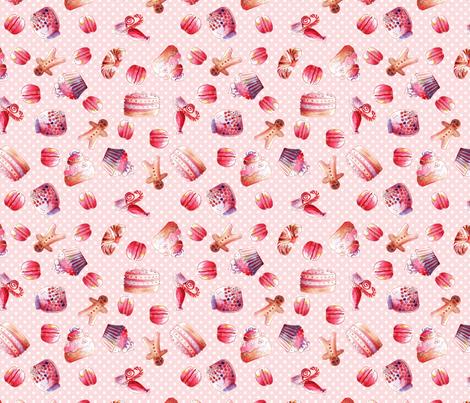 gourmandise M fabric by nadja_petremand on Spoonflower - custom fabric