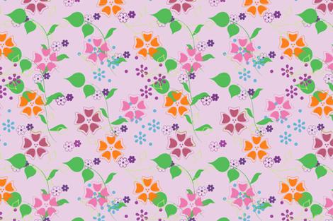 summer bloom-ch fabric by snork on Spoonflower - custom fabric