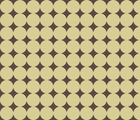 Giant Dots - Salt fabric by evenspor on Spoonflower - custom fabric
