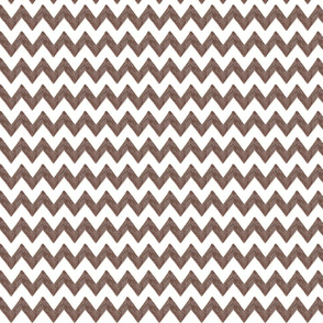 zig zag terrain in brown