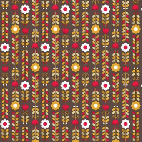 Mum's Kitchen | flowers fabric by irrimiri on Spoonflower - custom fabric