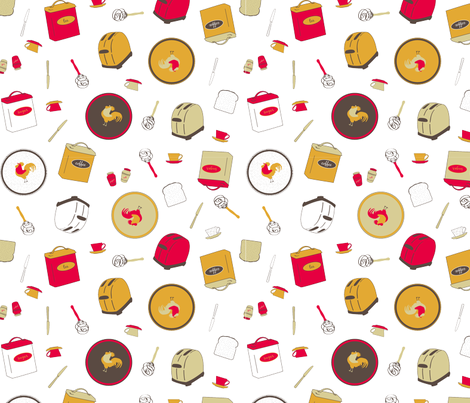 its_so_me_retro_kitchen_contest fabric by it's_sew_me! on Spoonflower - custom fabric