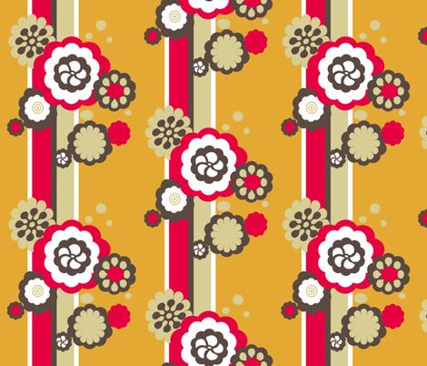 retroflow fabric by kvervelvind on Spoonflower - custom fabric
