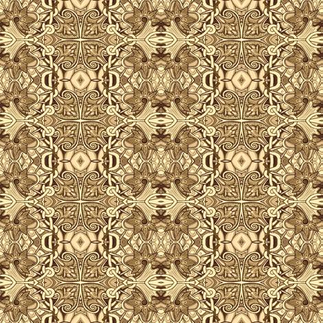 Monochrome Spadeflower Vertical Stripe fabric by edsel2084 on Spoonflower - custom fabric