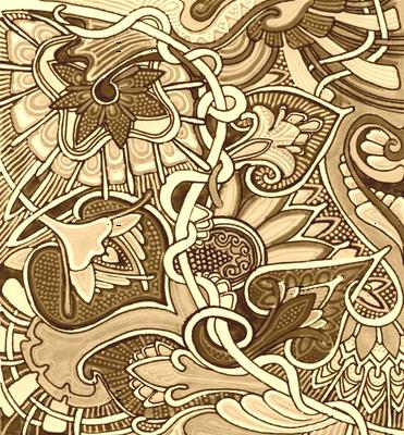 Tangled Up in Sepia Strings