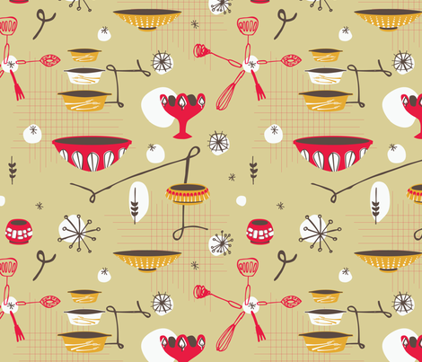 mix-it-up-50s-style fabric by circlesandsticks on Spoonflower - custom fabric