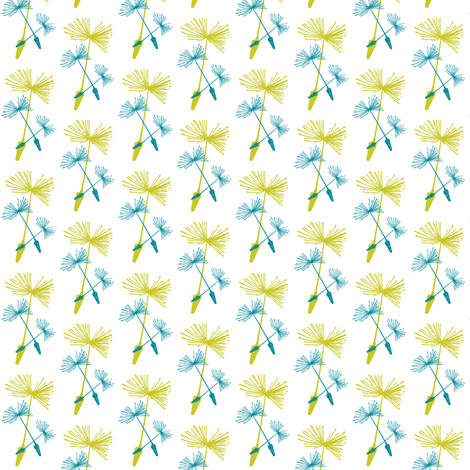 Dandelion Wine fabric by brainsarepretty on Spoonflower - custom fabric