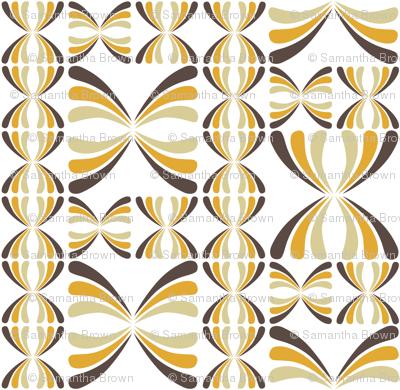 Retro Geometric - Brown