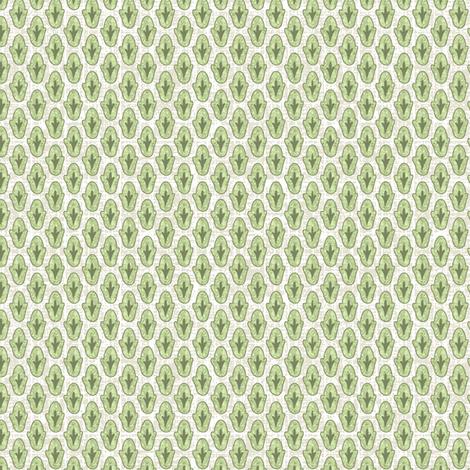Backyard Diitsy fabric by littlerhodydesign on Spoonflower - custom fabric