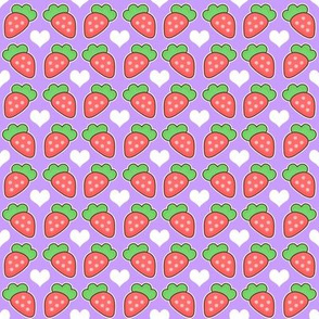 Strawberry and Hearts