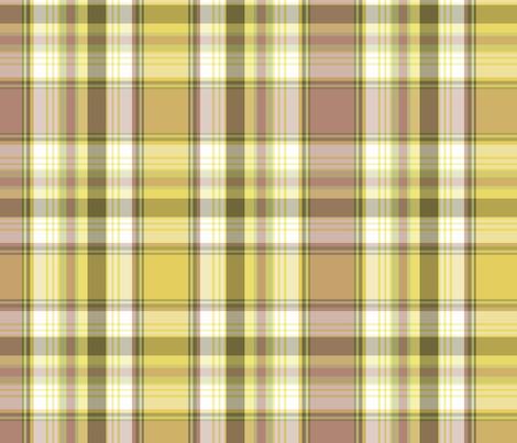 My Backyard Plaid fabric by littlerhodydesign on Spoonflower - custom fabric