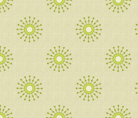 starburs fabric by littlerhodydesign on Spoonflower - custom fabric