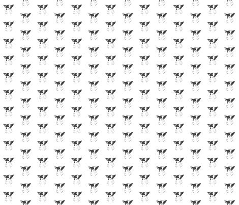Chihuahua fabric by aussienisi on Spoonflower - custom fabric