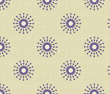 Starburst Ink fabric by littlerhodydesign on Spoonflower - custom fabric