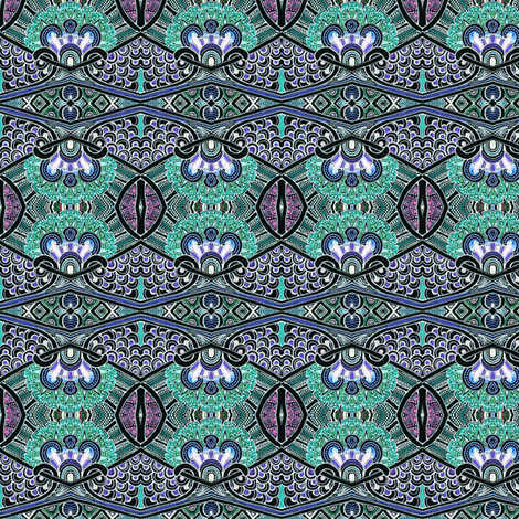 Why the Peacock Struts so Proudly fabric by edsel2084 on Spoonflower - custom fabric
