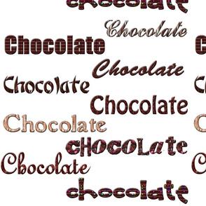 Chocolate, Chocolate, Chocolate...