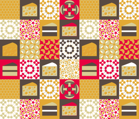 in the larder fabric by sef on Spoonflower - custom fabric