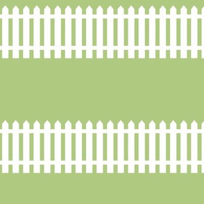 fences on green