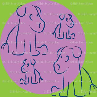 Grape-Plum Pups-ch