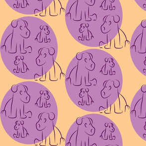 Grape-Coral Pups