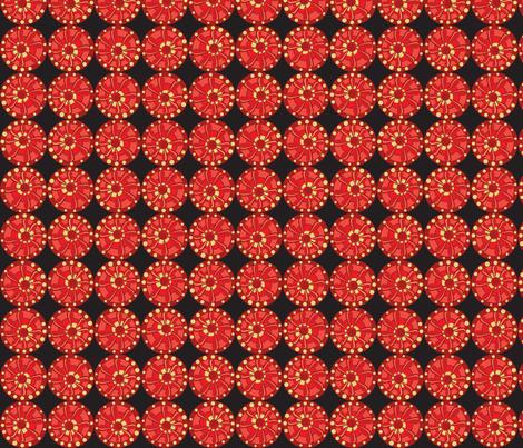 Julitha (Fireworks) fabric by bippidiiboppidii on Spoonflower - custom fabric
